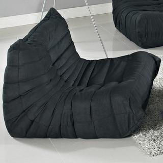 Waverunner Modular Black Sectional Chair