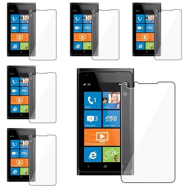 INSTEN Clear Screen Protector for Nokia Lumia 900 (Pack of 6)