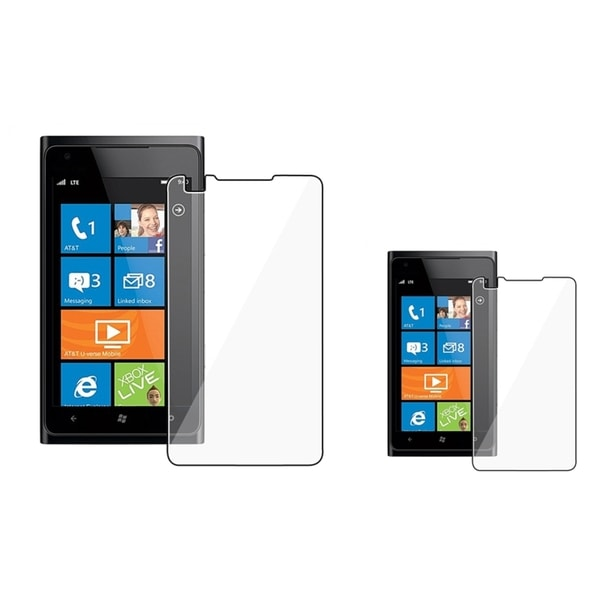 INSTEN Clear Screen Protector for Nokia Lumia 900 (Pack of 2)