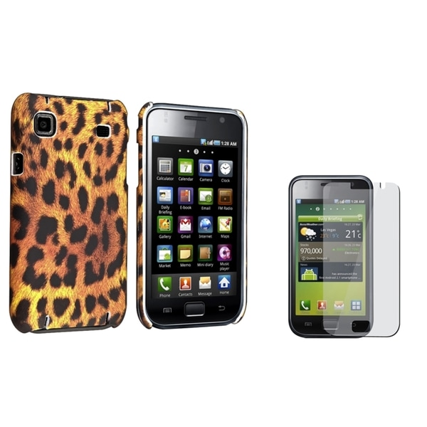 BasAcc Rubber Case/ Screen Protector for Samsung Galaxy S i9000