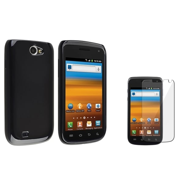 BasAcc Black TPU Case/ Screen Protector for Samsung Exhibit 2 4G T679