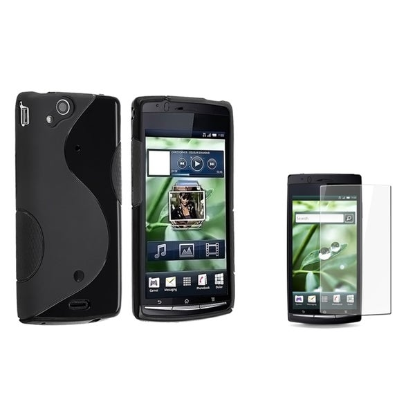BasAcc TPU Case/ Screen Protector for Sony Ericsson Xperia Arc X12