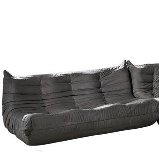 Waverunner Modular Light Grey Sectional Sofa