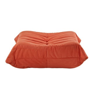 Waverunner Modular Orange Sectional Ottoman
