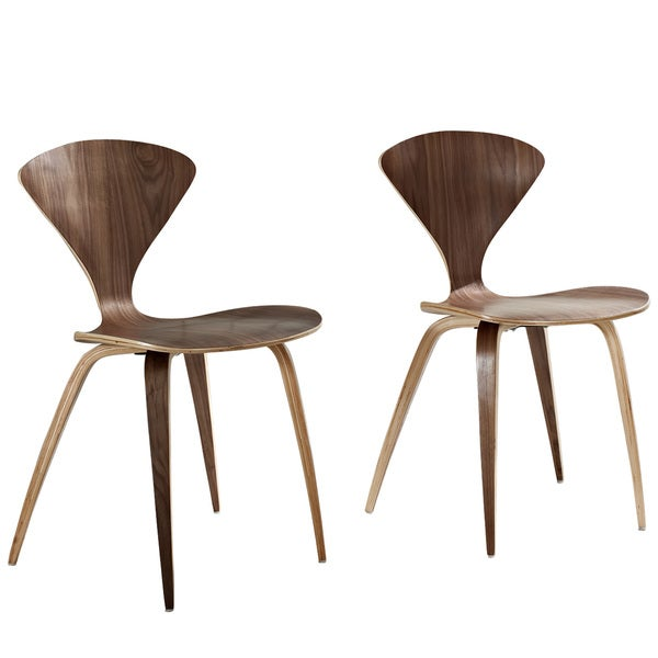 molded plywood chairs cherner modern red. dark walnut cherner style stacking chair set free shipping today overstockcom 14671688 molded plywood chairs modern red