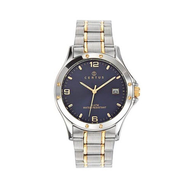 Certus Paris Men's Two-tone Stainless Steel Watch