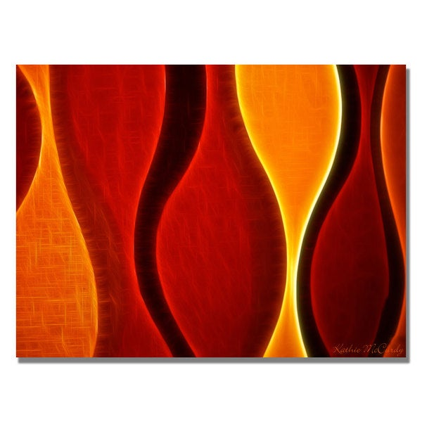Kathie McCurdy 'Flame' Canvas Art