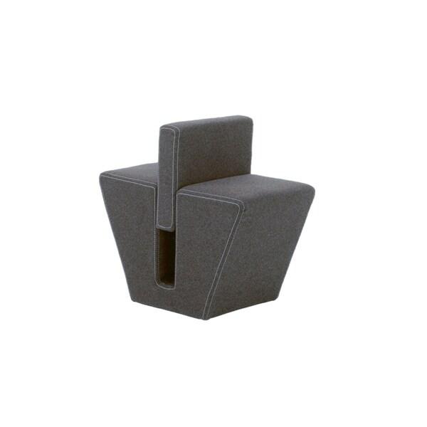 Euro Style Grey Tsutsumi Side Table