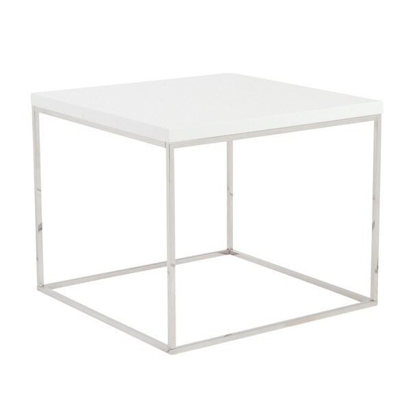 Euro style 39 teresa 39 side table free shipping today for Couch 600 euro