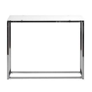 Euro Style 'Sandor' White Console Table