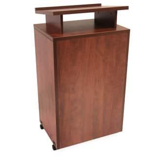 Regency Seating 44-inch Melamine-laminate Floor-standing Lectern|https://ak1.ostkcdn.com/images/products/7183928/P14671899.jpg?impolicy=medium