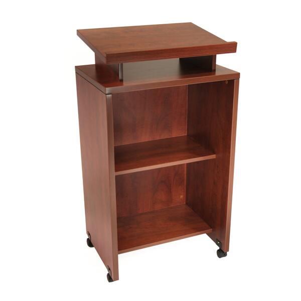 Shop Regency Seating 44 Inch Melamine Laminate Floor Standing