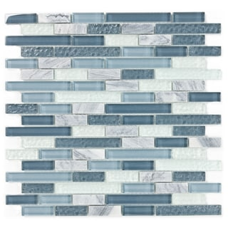 ICL H-137 Blue/Grey Glass and Stone Mix (Case of 11)