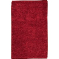 Hand-woven Baca Red Wool Area Rug - 8' x 10'6