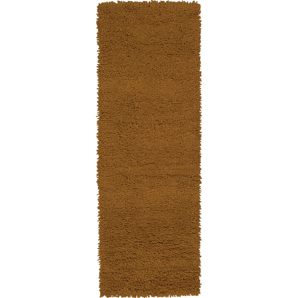 Hand-woven Fremont Ivory Wool Rug (4' x 10')