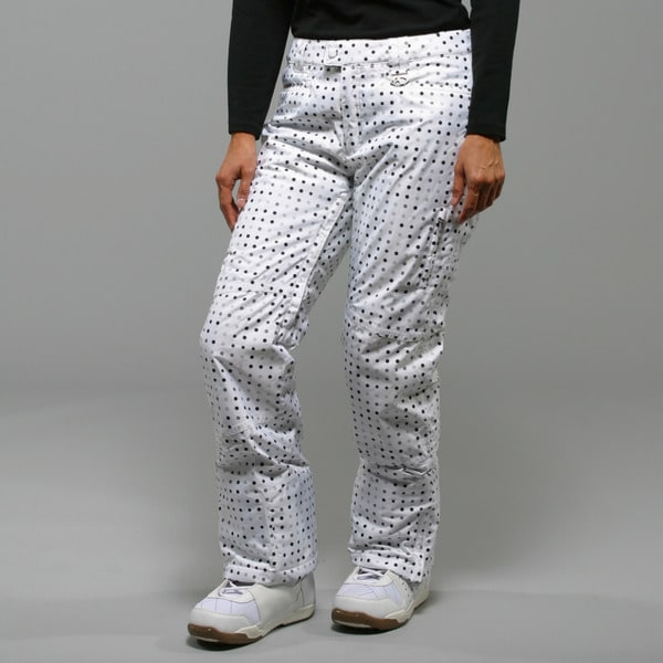 Marker Women's 'Morning Star' White Insulated Ski Pants