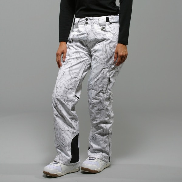 Marker Women's 'Inspiration' White Insulated Ski Pants