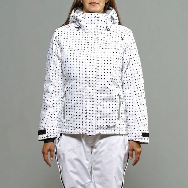 Marker Women's 'Crown Point' White Jacket