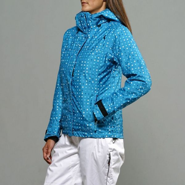 Marker Women's 'Crown Point' Hydro Blue Jacket