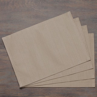Khaki Heavy Weight Textured Placemat (Set of 4)