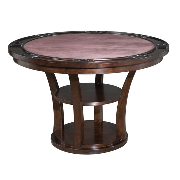 Rio Vista Game Table Espresso Finish by Home Styles