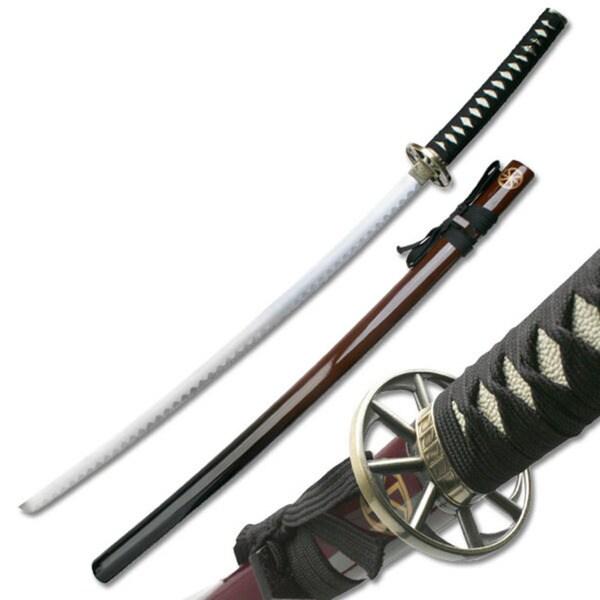 Master Cutlery Dean Hogarth Traditional Samurai Sword and Scabbard