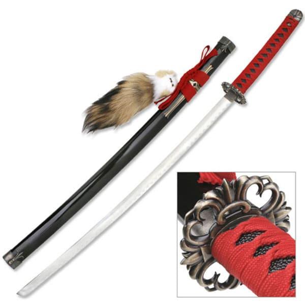 Master Cutlery Anime Cosplay 40.5-inch Samurai Sword with Pendant