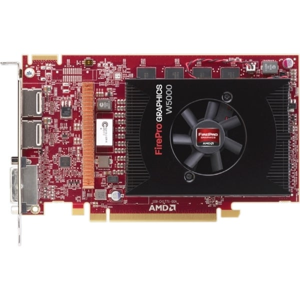 AMD FirePro W5000 Graphic Card - 2 GB GDDR5 - PCI Express 3.0 x16 - H