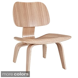 Superb Molded Natural Plywood Lounge Chair   Free Shipping Today   Overstock.com    14678530