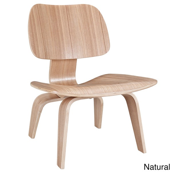 Molded Natural Plywood Lounge Chair Free Shipping Today