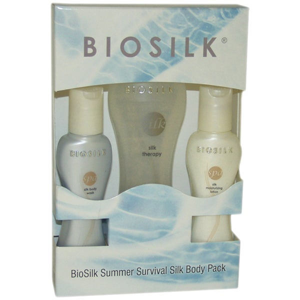 Biosilk Summer Survival Silk Body Pack 3-piece Set