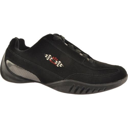 Men's A2Z Racer Gear Kyalami Driving Shoe Black/Black