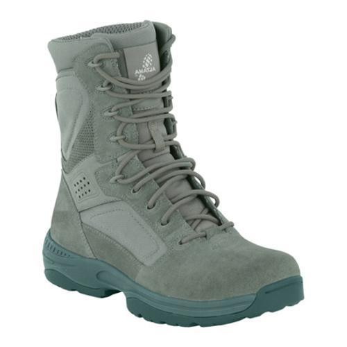Men's Altama Footwear 8in EXOSpeed II Sage Green Suede/Cordura