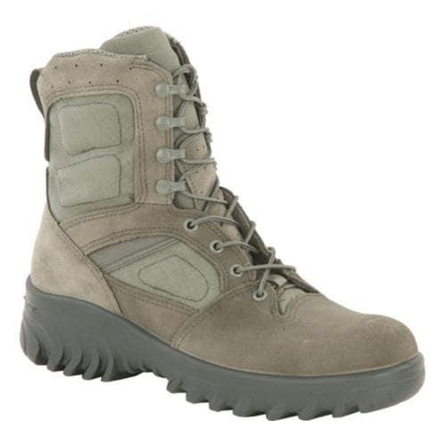 Men's Altama Footwear 8in Hoplite Sage Green Suede/Cordura