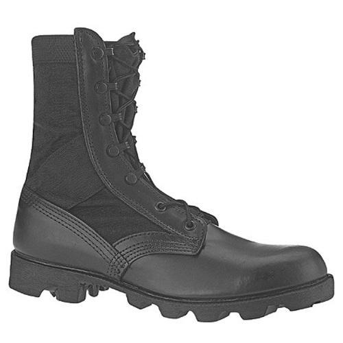 Men's Altama Footwear Jungle Boot 6853 Black Leather / Cordura Nylon