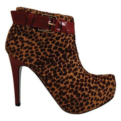 Women's Bruno Menegatti 1473610 Cheetah/Ruby - Thumbnail 1