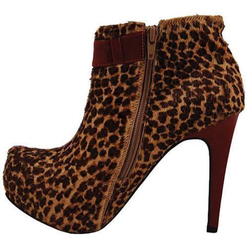 Women's Bruno Menegatti 1473610 Cheetah/Ruby - Thumbnail 2
