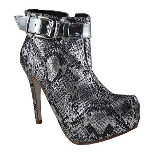 Women's Bruno Menegatti 1473610 Silver/Cobra