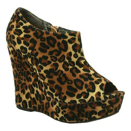 Women's Da Viccino Mona-1 Camel Leopard