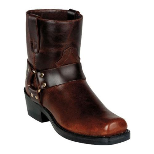 Men's Durango Boot DB714 7 Brown Frontier Pull Up Leather - Thumbnail 0