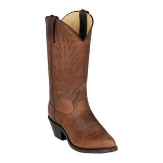 Durango Women's Distress Leather Boots Tan