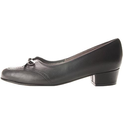 Women's FootThrills Plaza Black Leather