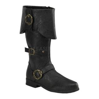 Men's Funtasma Carribean 299 Black Distressed PU