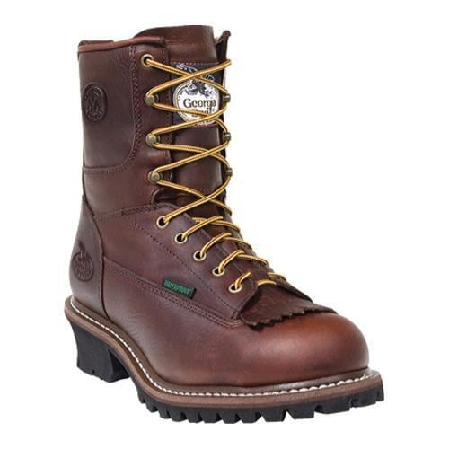 Men's Georgia Boot G7113 8in Logger Bark