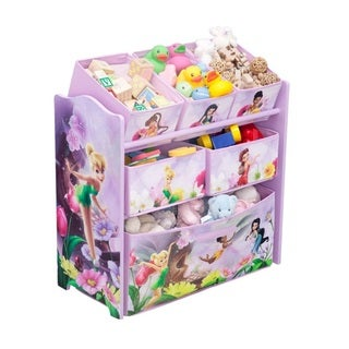 Disney Fairies Multi-bin Toy Organizer