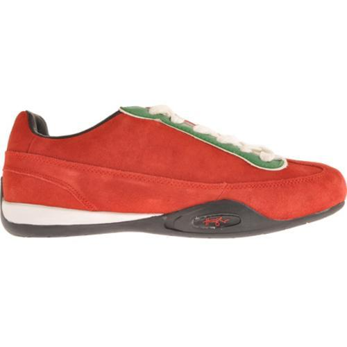 Men's Hunziker Collection Scuderia - Suede/Leather Red/Green