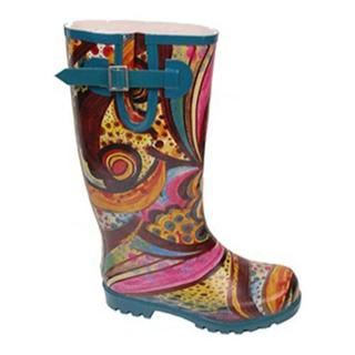Women's Nomad Puddles Turquoise Monet