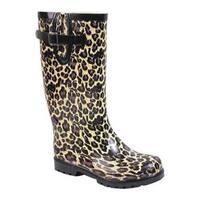 Women's Nomad Puddles Tan Leopard
