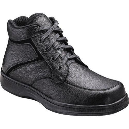 Men's Orthofeet 481 Black Leather