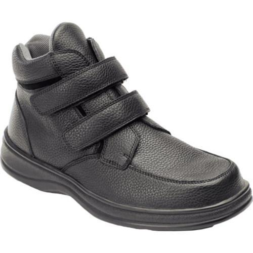 Men's Orthofeet 581 Black Leather